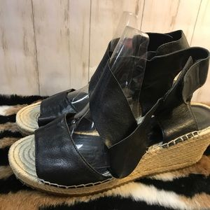 Eileen Fisher Leather Espadrilles